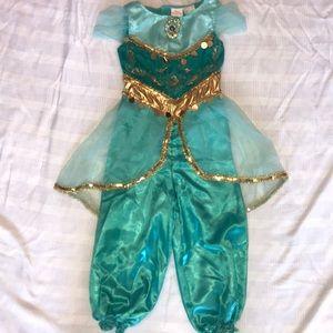 Princess Jasmine Dress Up Costume